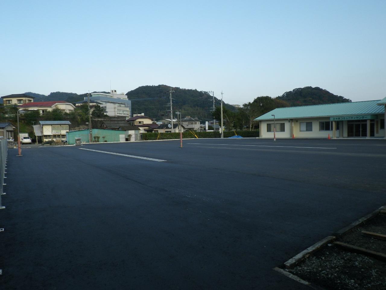 土々呂コミュニティセンター建設 屋外附帯工事