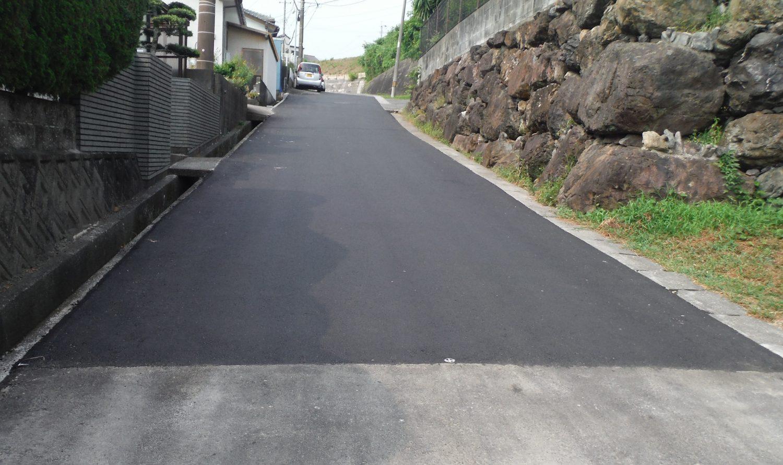 平成29年度 櫛の山線外舗装補修工事