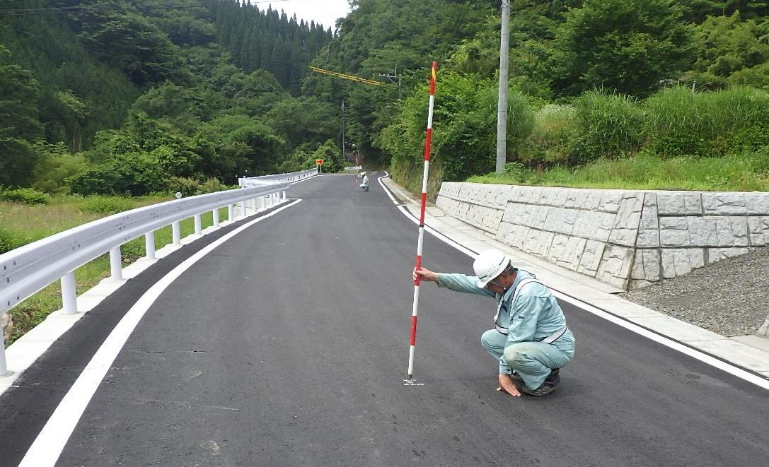 平成29年度 県道上椎葉湯前線 不土野小工区 舗装工事