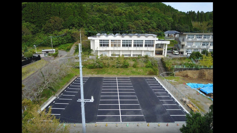 旧幸脇小学校跡地駐車場 舗装工事